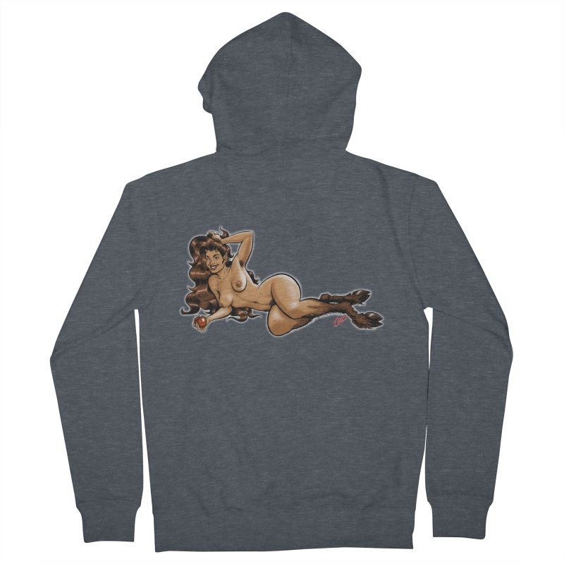FAUN HAUL Women's French Terry Zip-Up Hoody by The Art of Coop