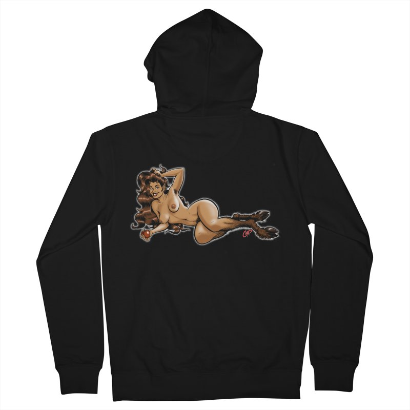 FAUN HAUL Women's French Terry Zip-Up Hoody by artofcoop's Artist Shop