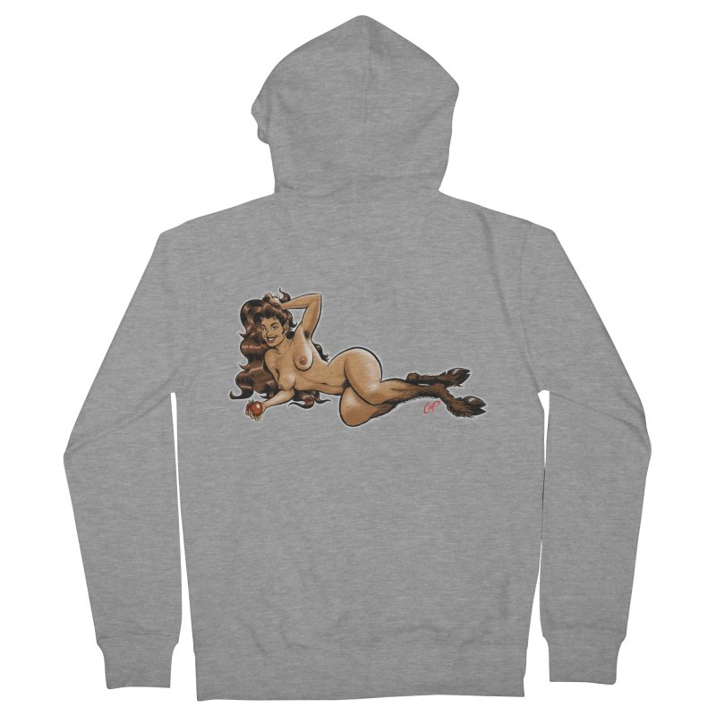 FAUN HAUL Men's French Terry Zip-Up Hoody by The Art of Coop