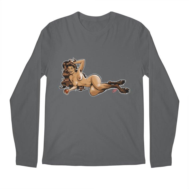 FAUN HAUL Men's Longsleeve T-Shirt by The Art of Coop
