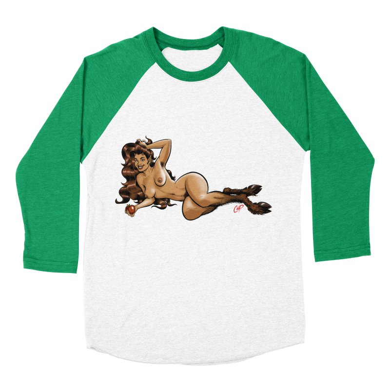 FAUN HAUL Men's Baseball Triblend Longsleeve T-Shirt by The Art of Coop