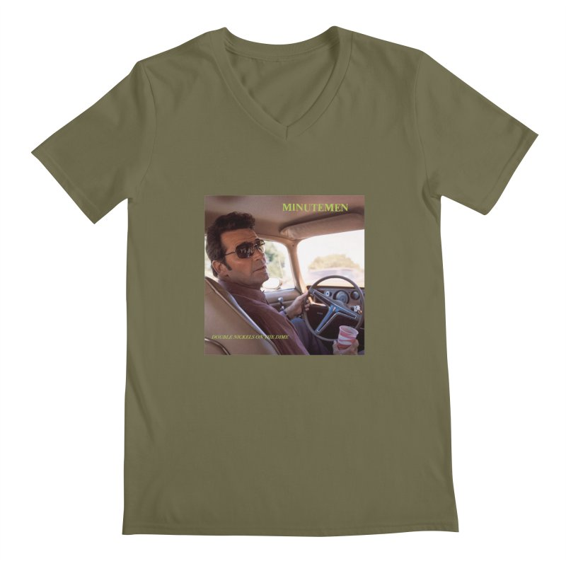 Double Nickels Plus Expenses Men's Regular V-Neck by artofcoop's Artist Shop