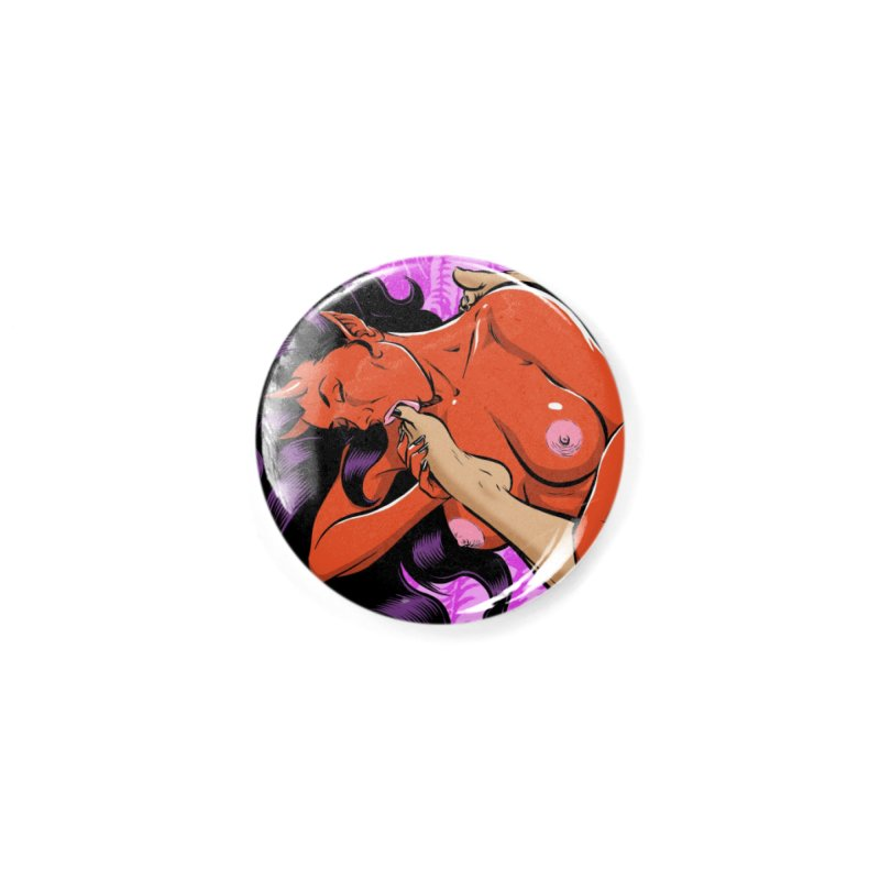 HEAVEN AND HELL Accessories Button by The Art of Coop