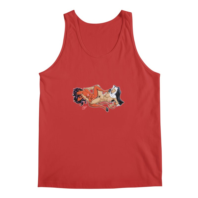 HEAVEN AND HELL Men's Regular Tank by The Art of Coop