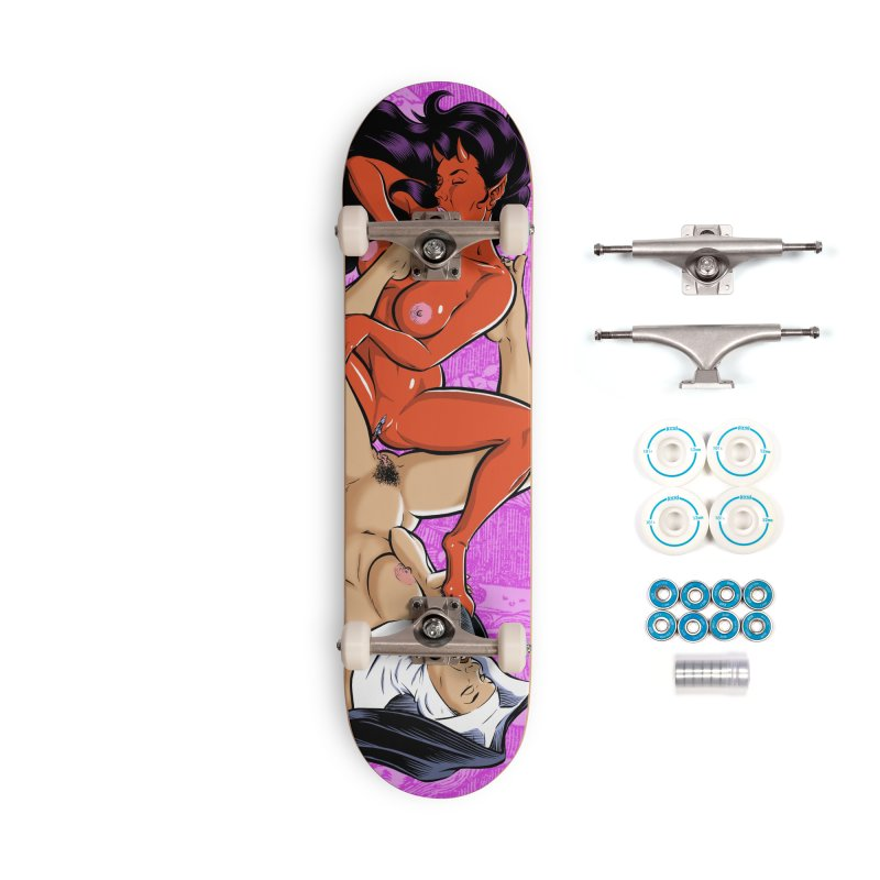 HEAVEN AND HELL Accessories Skateboard by The Art of Coop