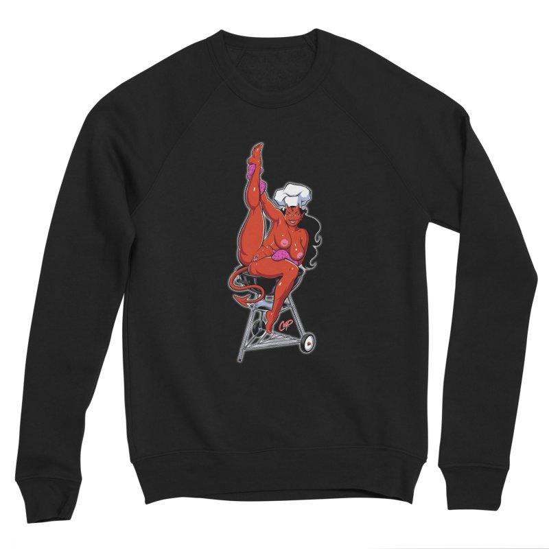 EAT OUT MORE OFTEN Men's Sponge Fleece Sweatshirt by The Art of Coop