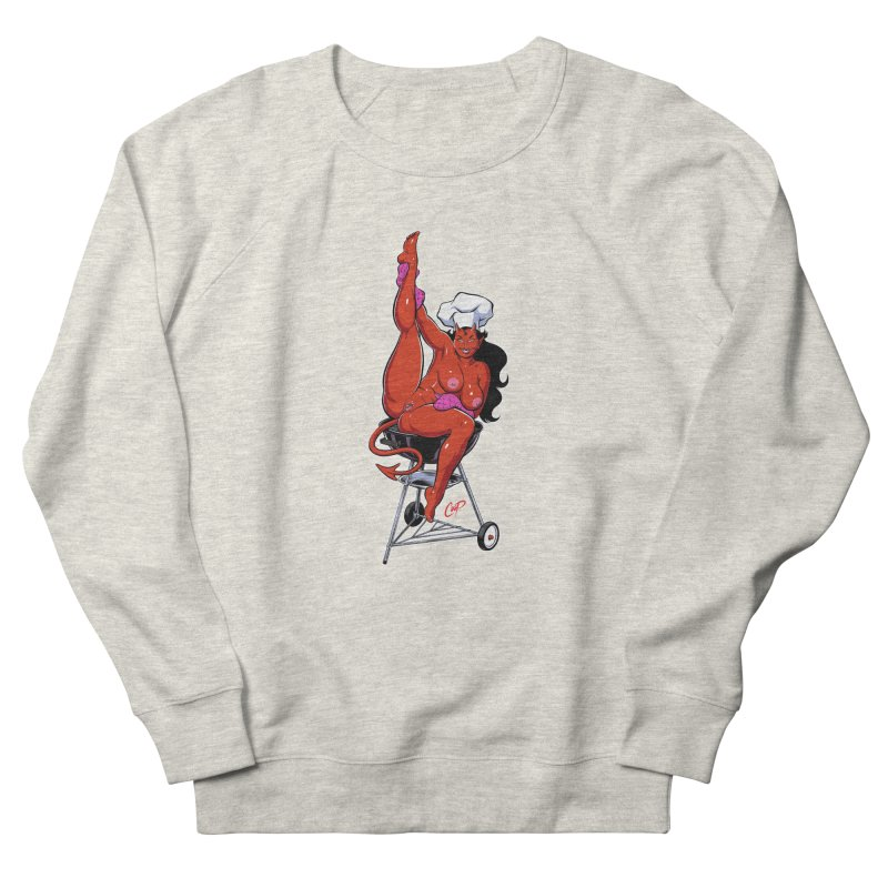 EAT OUT MORE OFTEN Women's French Terry Sweatshirt by The Art of Coop