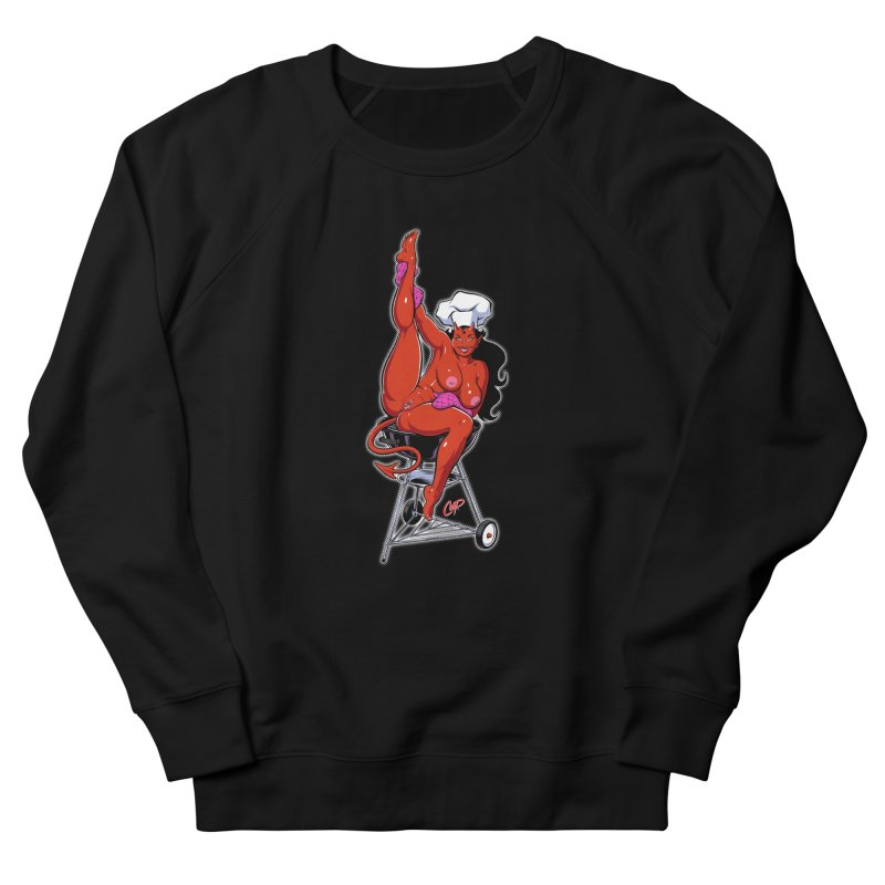 EAT OUT MORE OFTEN Men's French Terry Sweatshirt by The Art of Coop