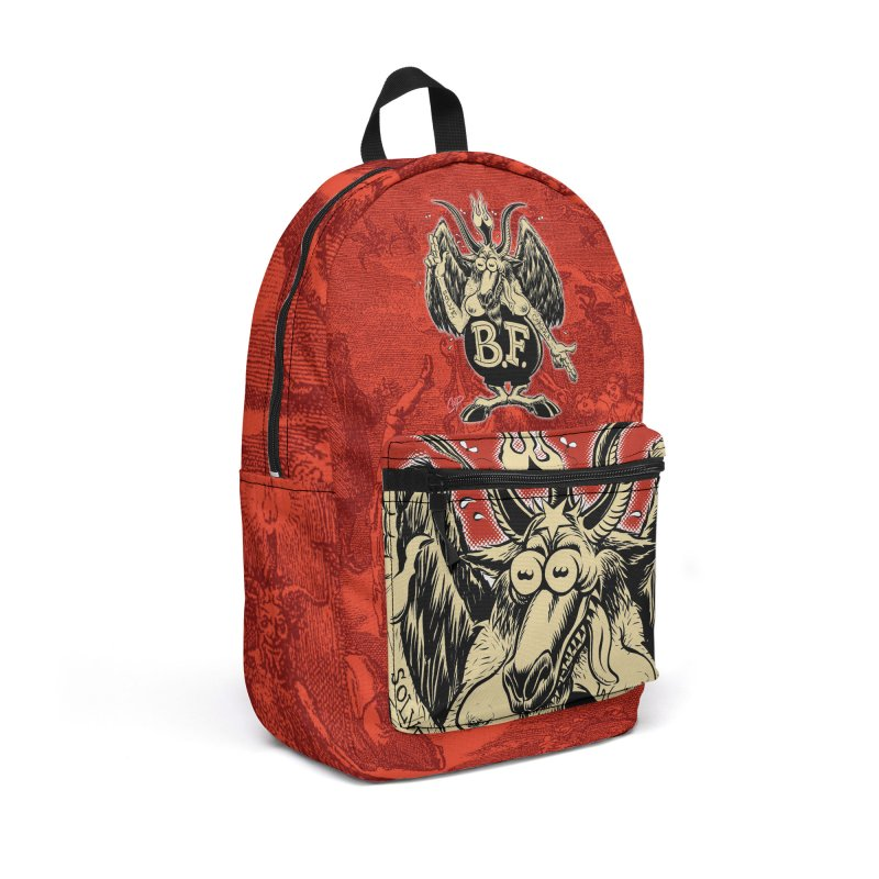BAPH FINK Accessories Backpack Bag by The Art of Coop