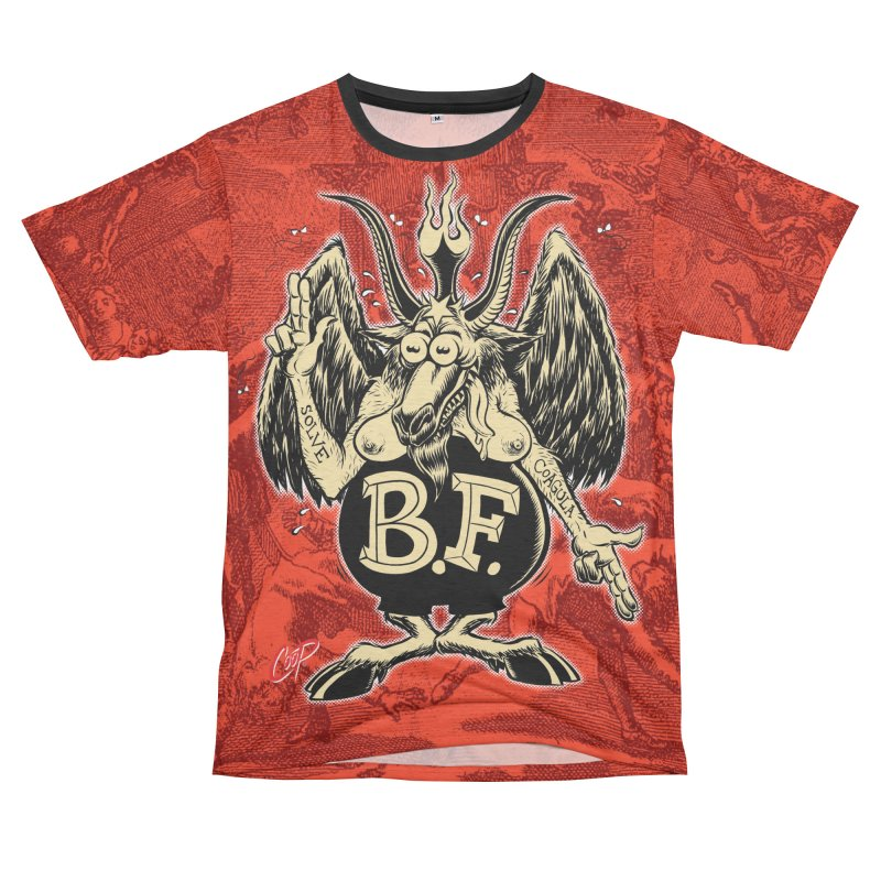 BAPH FINK Men's French Terry T-Shirt Cut & Sew by The Art of Coop