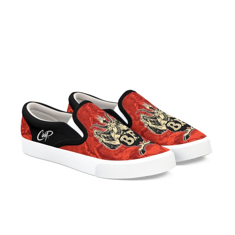 BAPH FINK Men's Slip-On Shoes by artofcoop's Artist Shop