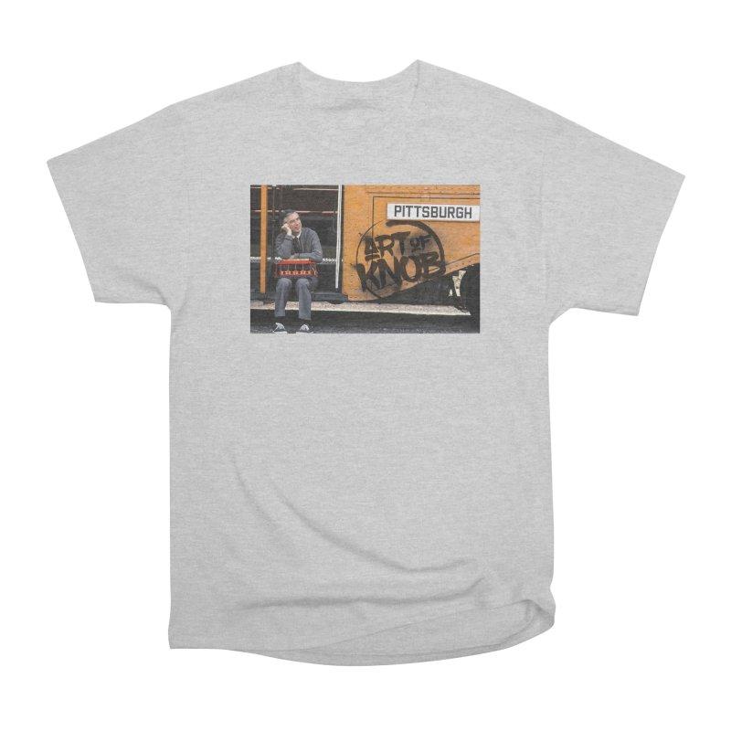 Mr. Rogers Women's Heavyweight Unisex T-Shirt by Art of Knob - Shop
