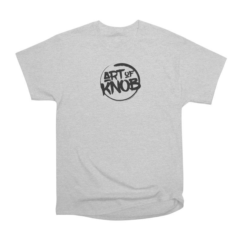 Art of Knob Logo Men's Heavyweight T-Shirt by Art of Knob - Shop