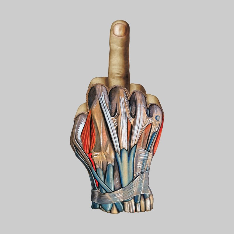 The Middle Finger by Art of Marabelle's Artist Shop