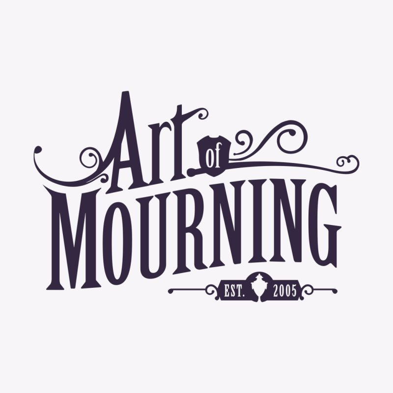 Art of Mourning Home Throw Pillow by The Art of Mourning Shop