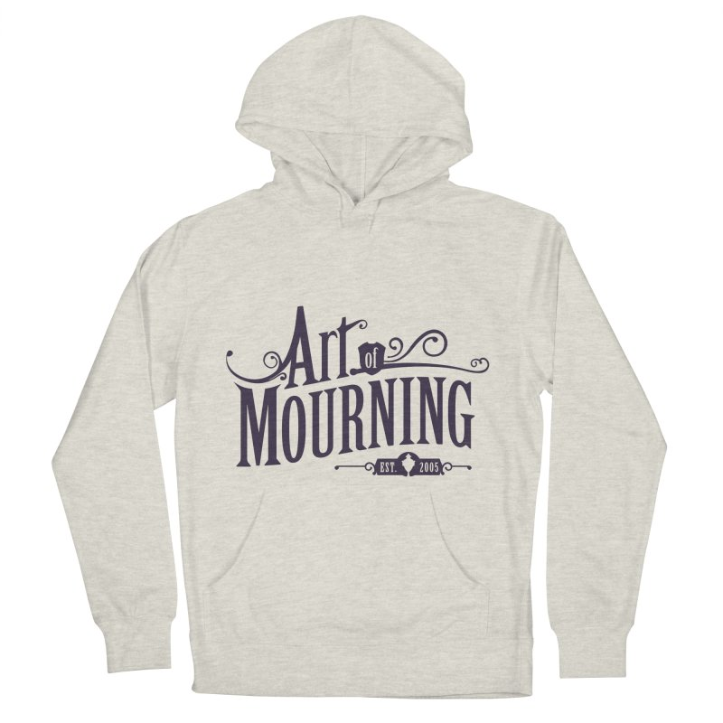 Art of Mourning Women's French Terry Pullover Hoody by The Art of Mourning Shop