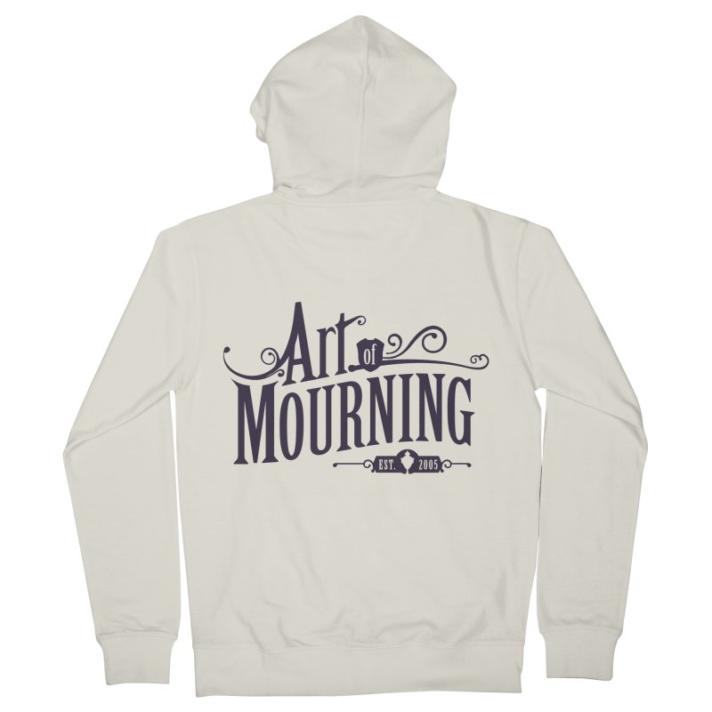 Art of Mourning Men's French Terry Zip-Up Hoody by The Art of Mourning Shop