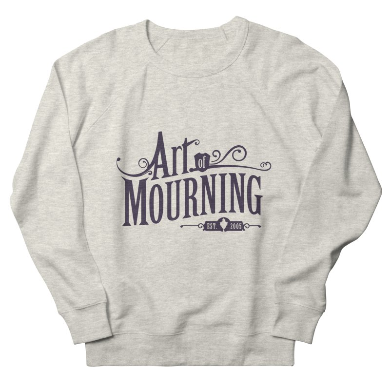 Art of Mourning Women's French Terry Sweatshirt by The Art of Mourning Shop