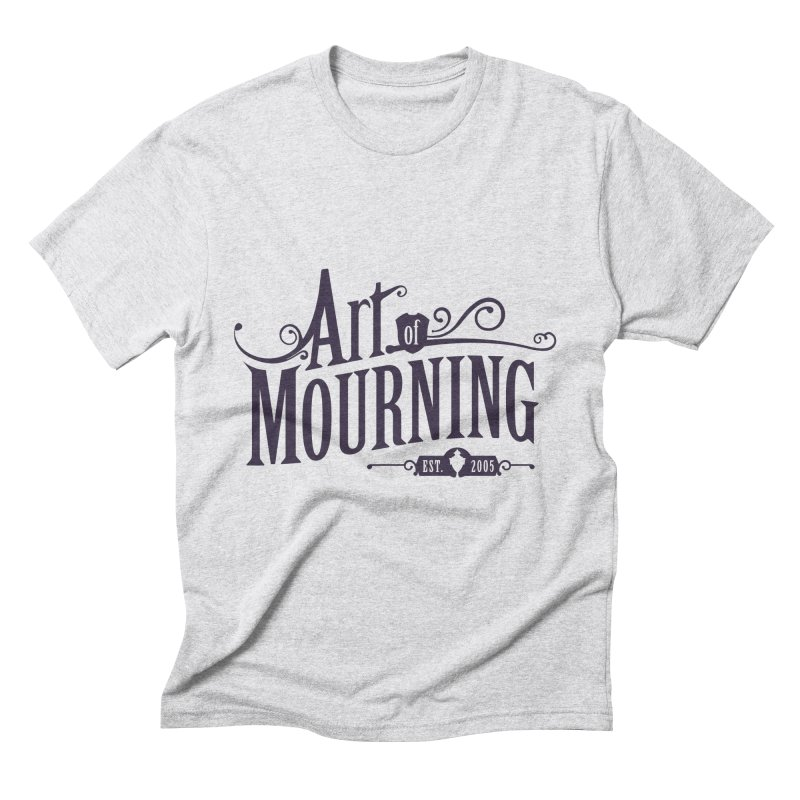 Art of Mourning Men's Triblend T-Shirt by The Art of Mourning Shop