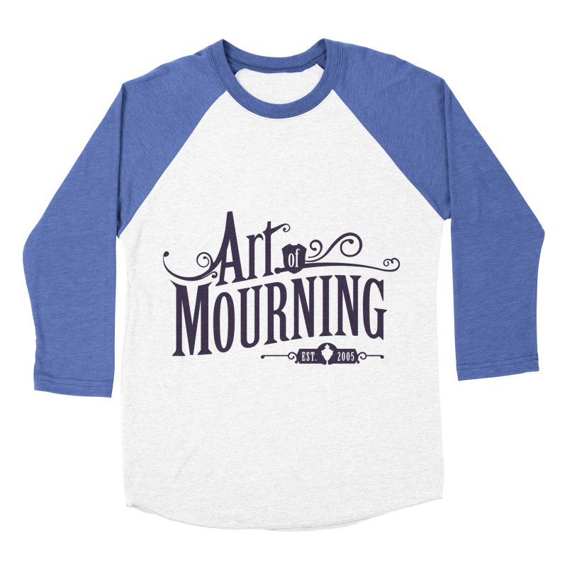 Art of Mourning Women's Baseball Triblend Longsleeve T-Shirt by The Art of Mourning Shop