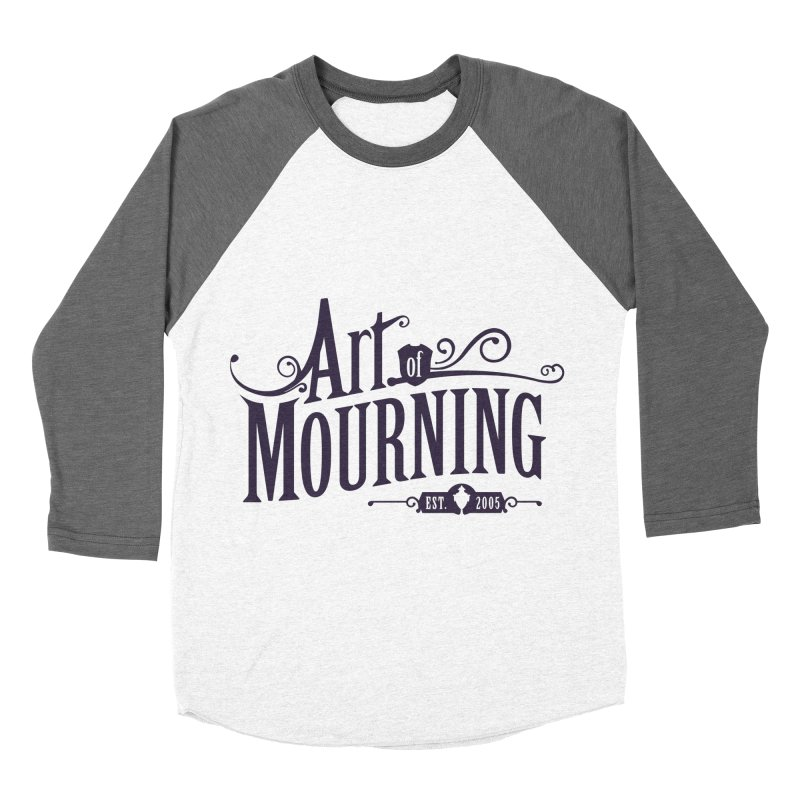 Art of Mourning Men's Baseball Triblend T-Shirt by The Art of Mourning Shop