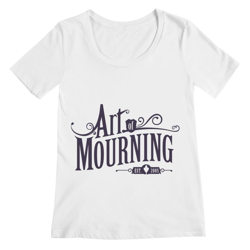 Art of Mourning Women's Regular Scoop Neck by The Art of Mourning Shop