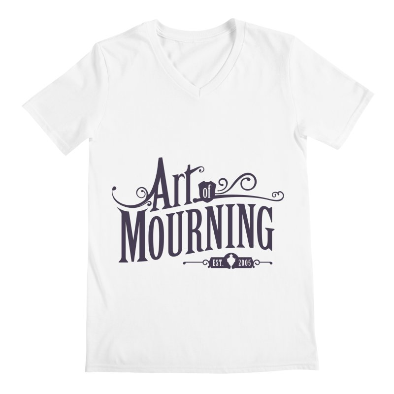 Art of Mourning Men's V-Neck by The Art of Mourning Shop