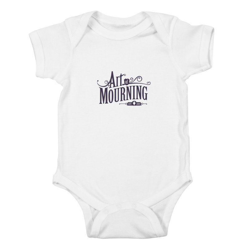 Art of Mourning Kids Baby Bodysuit by The Art of Mourning Shop