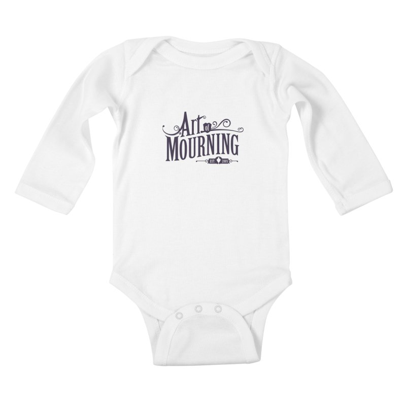 Art of Mourning Kids Baby Longsleeve Bodysuit by The Art of Mourning Shop