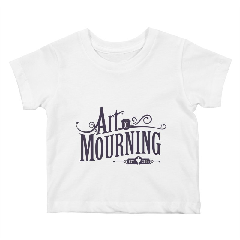 Art of Mourning Kids Baby T-Shirt by The Art of Mourning Shop