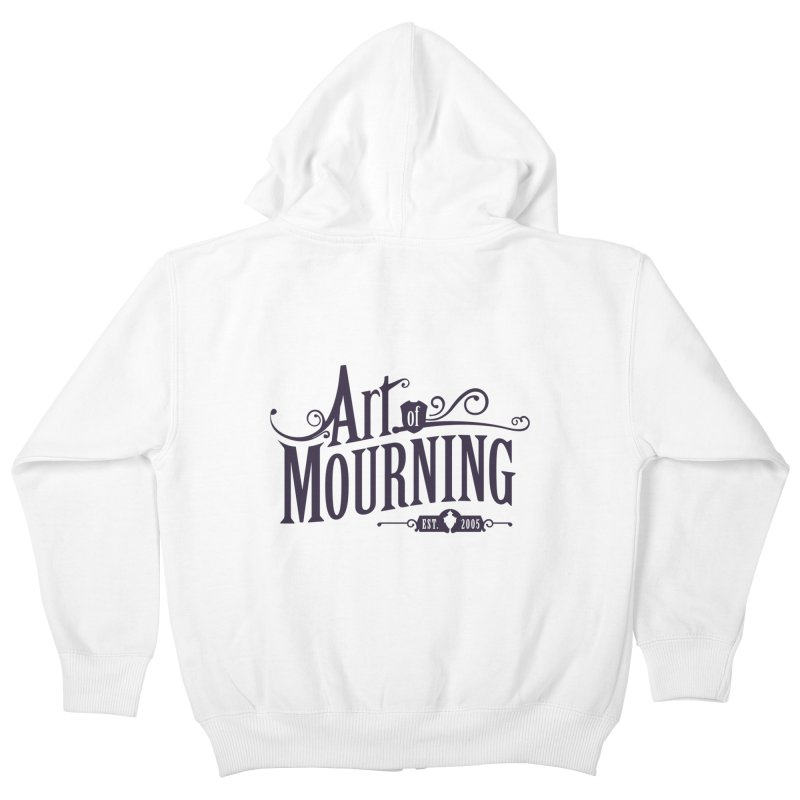 Art of Mourning Kids Zip-Up Hoody by The Art of Mourning Shop
