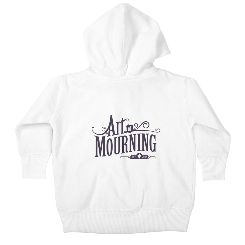 Art of Mourning Kids Baby Zip-Up Hoody by The Art of Mourning Shop