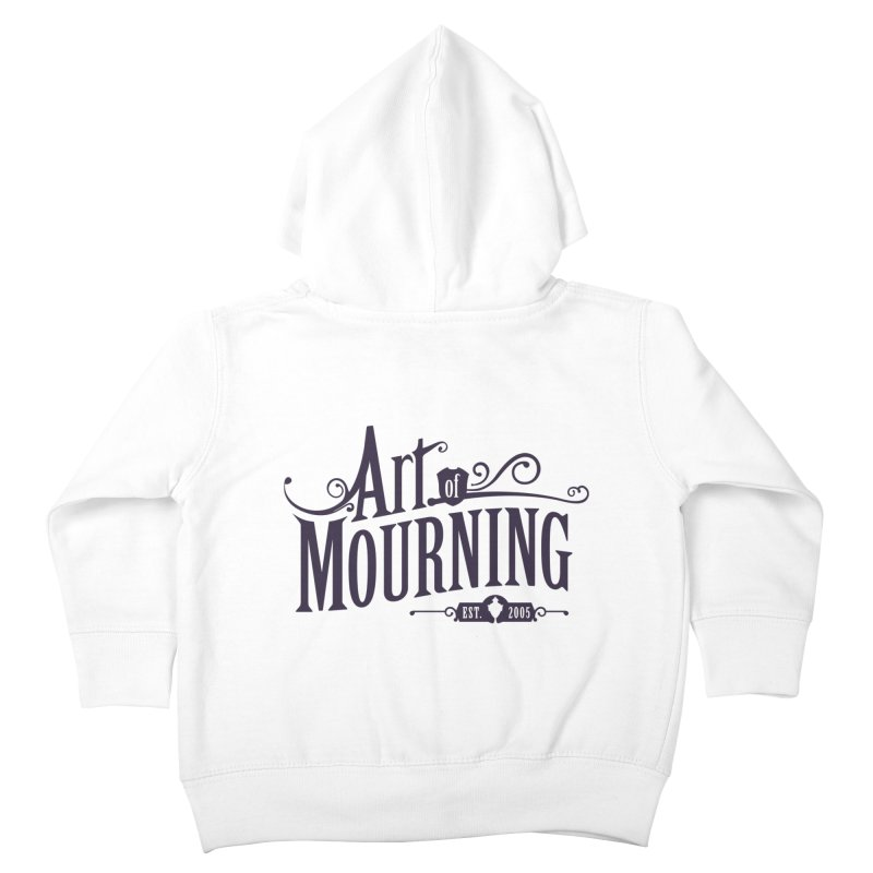 Art of Mourning Kids Toddler Zip-Up Hoody by The Art of Mourning Shop