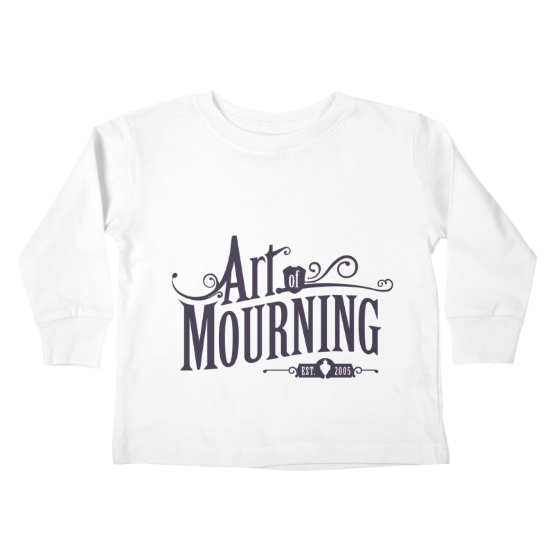 Art of Mourning Kids Toddler Longsleeve T-Shirt by The Art of Mourning Shop
