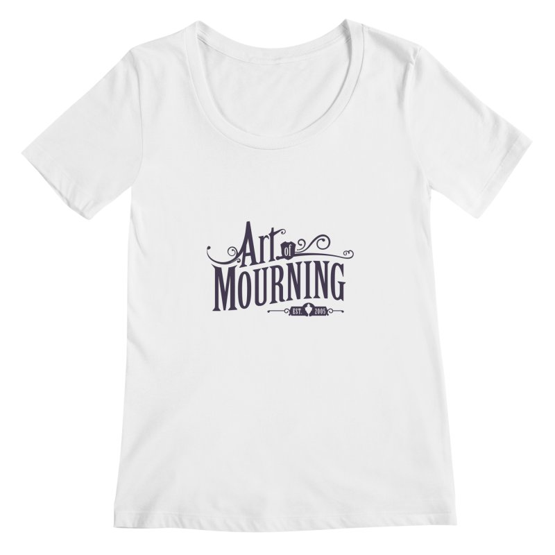Art of Mourning Women's Scoopneck by The Art of Mourning Shop