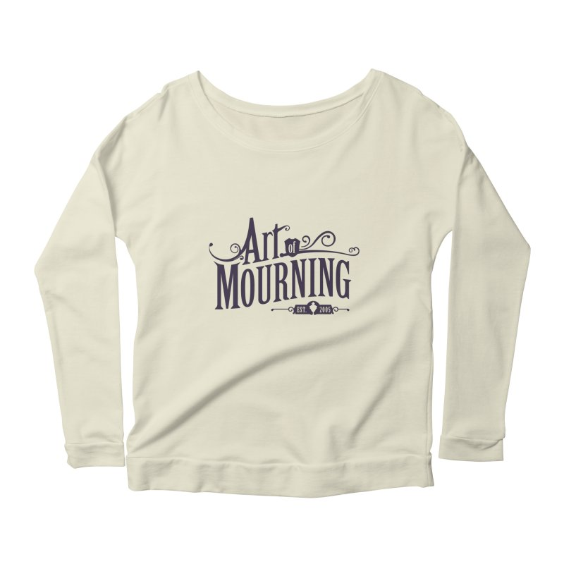 Art of Mourning Women's Longsleeve Scoopneck  by The Art of Mourning Shop