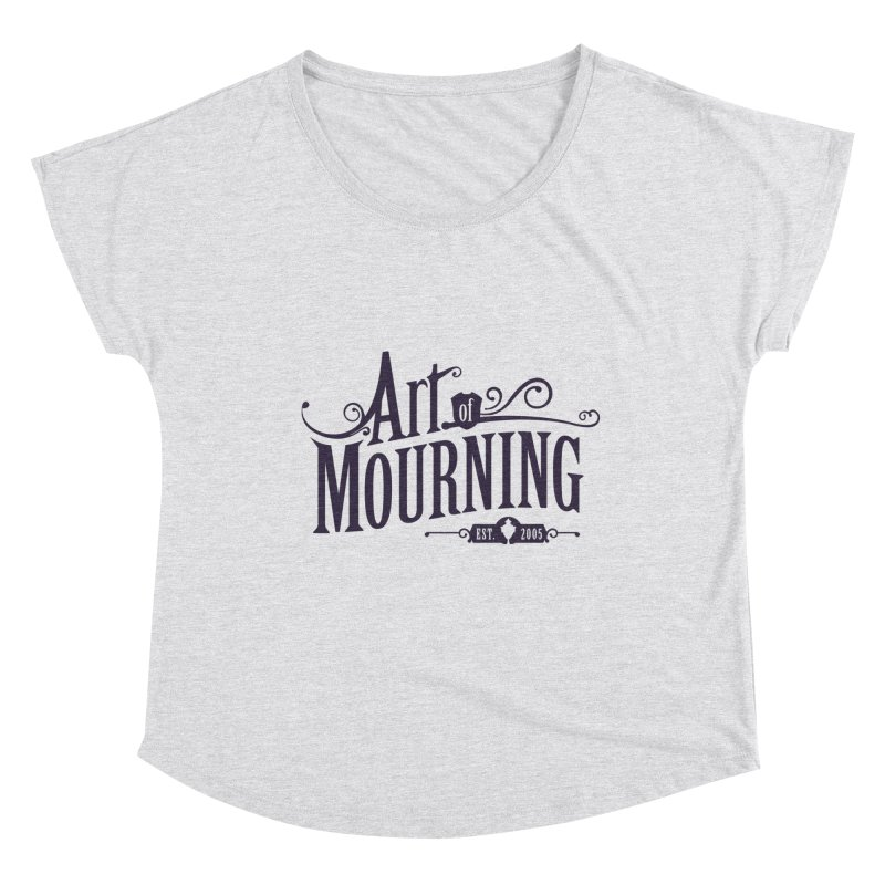 Art of Mourning Women's Scoop Neck by The Art of Mourning Shop