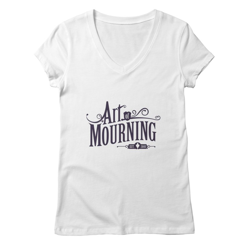 Art of Mourning Women's Regular V-Neck by The Art of Mourning Shop