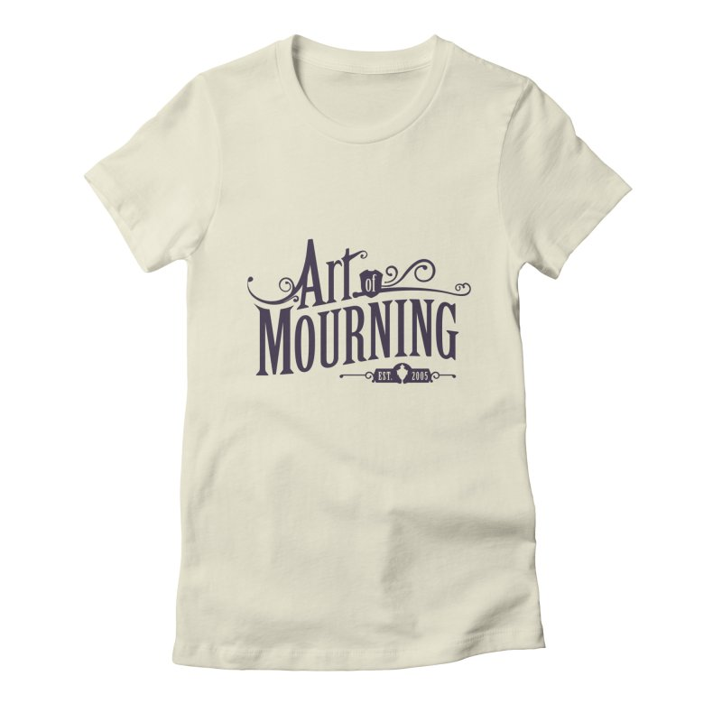 Art of Mourning Women's Fitted T-Shirt by The Art of Mourning Shop