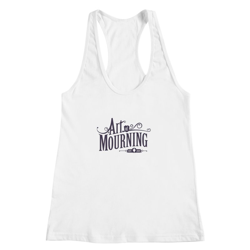 Art of Mourning Women's Racerback Tank by The Art of Mourning Shop