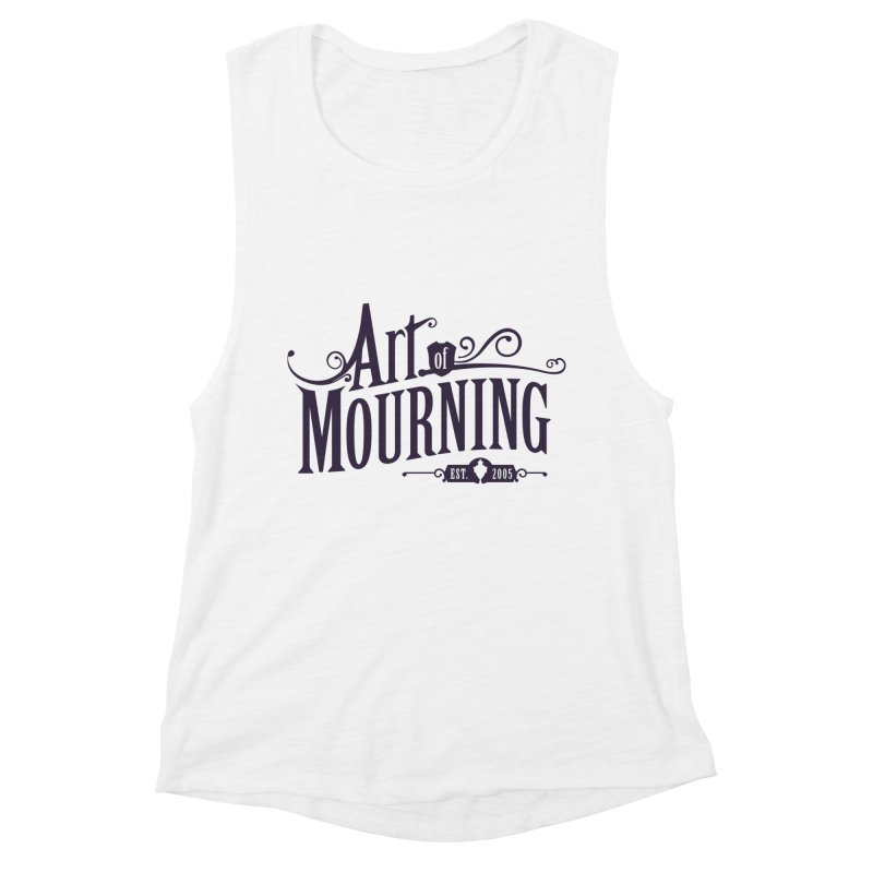 Art of Mourning Women's Muscle Tank by The Art of Mourning Shop