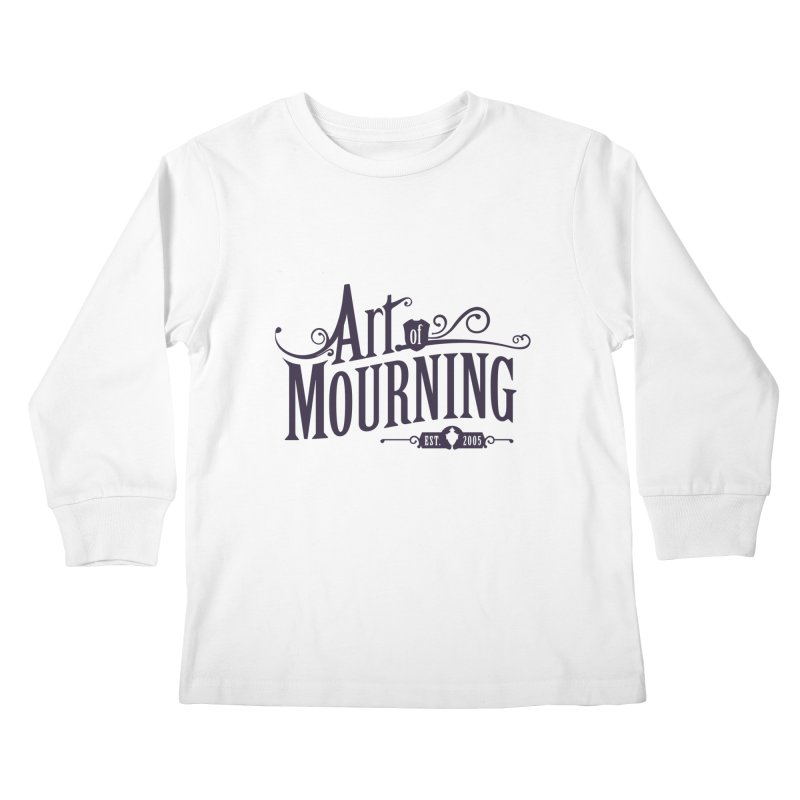 Art of Mourning Kids Longsleeve T-Shirt by The Art of Mourning Shop