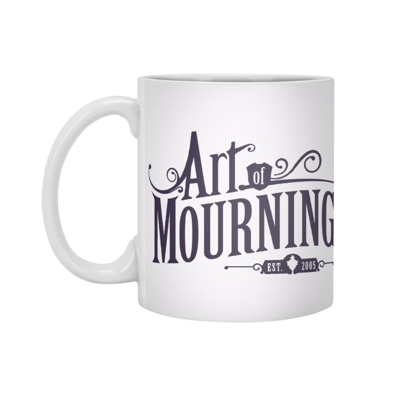 Art of Mourning Accessories Standard Mug by The Art of Mourning Shop