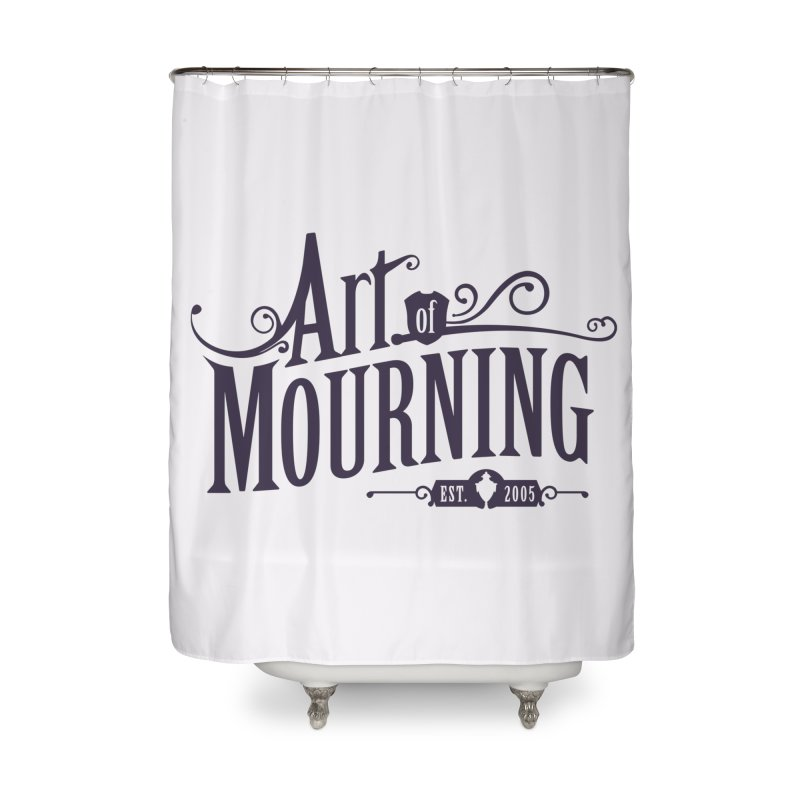 Art of Mourning Home Shower Curtain by The Art of Mourning Shop