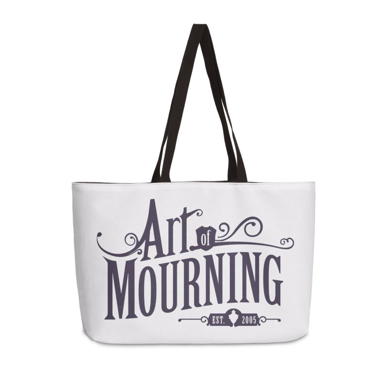 Art of Mourning Accessories Weekender Bag Bag by The Art of Mourning Shop
