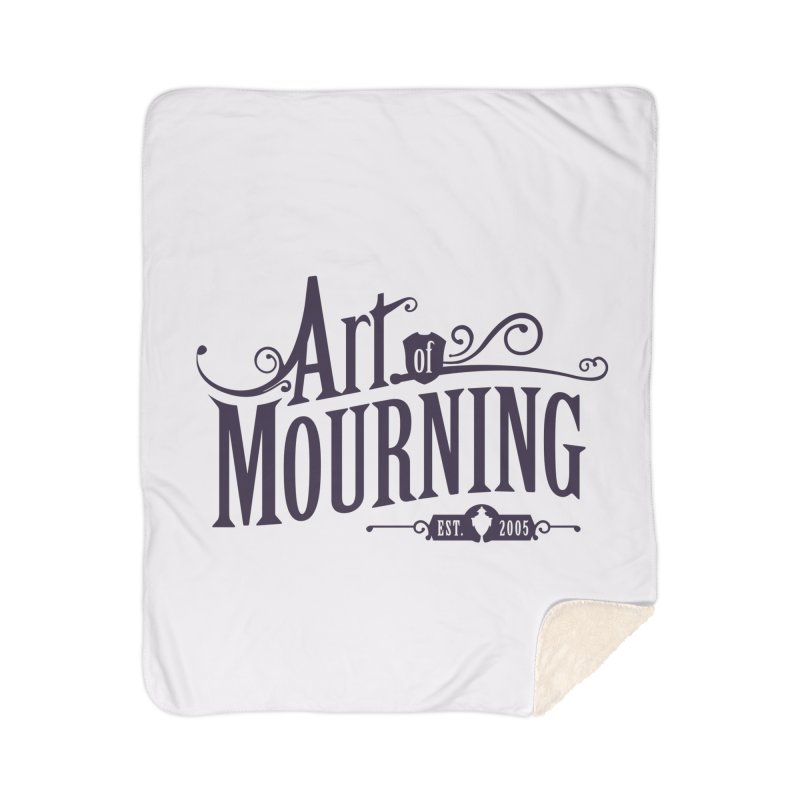 Art of Mourning Home Sherpa Blanket Blanket by The Art of Mourning Shop