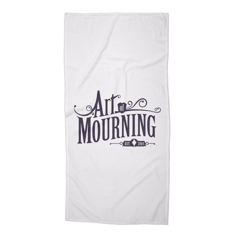 Art of Mourning Accessories Beach Towel by The Art of Mourning Shop