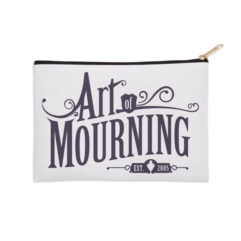 Art of Mourning Accessories Zip Pouch by The Art of Mourning Shop