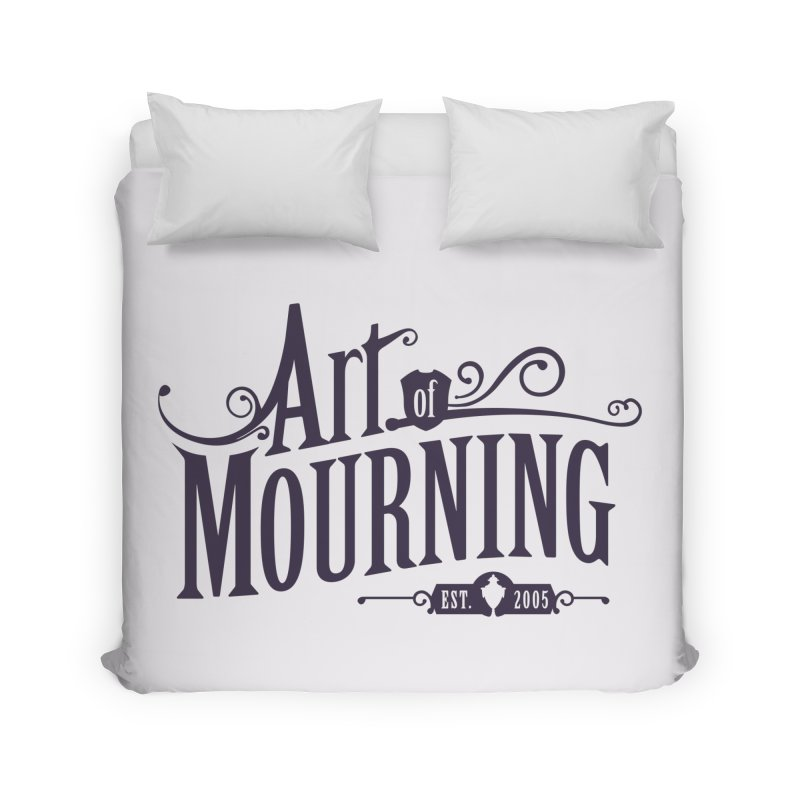 Art of Mourning Home Duvet by The Art of Mourning Shop