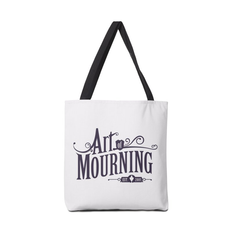 Art of Mourning Accessories Tote Bag Bag by The Art of Mourning Shop